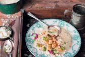 Recipe: Creamy turnip, cauliflower and lentil soup with ricotta
