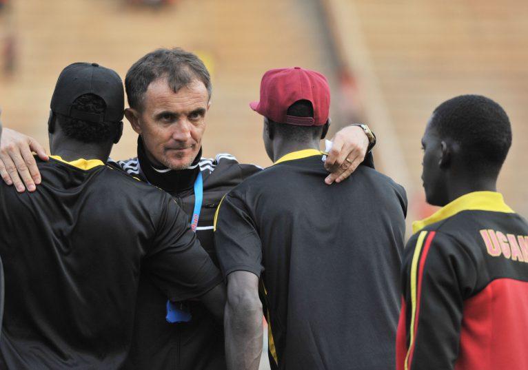 Milutin Micho Sredojevich, Uganda head coach (Ismail Kezaala/BackpagePix)