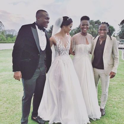 Wearing White To A Wedding.Ex Miss Sa Bokang Slammed For Wearing White At Friend S