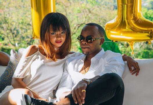 Mihlali Ndamase and Banele Mhere. Image via Instagram