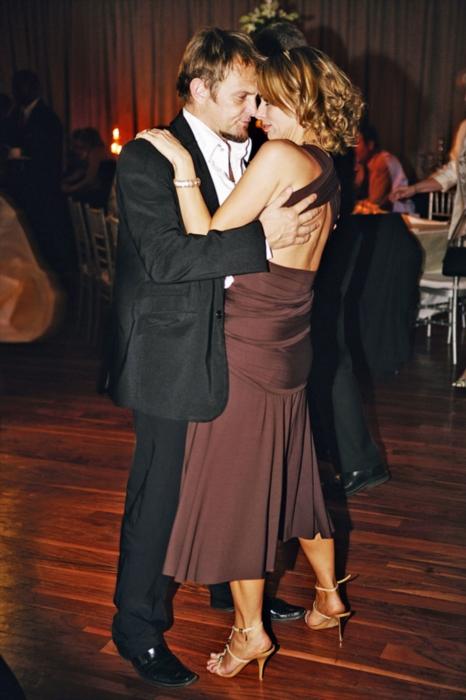 Steve Hofmeyr on the dancefloor with his ex- wife Natasha. Gallo Images