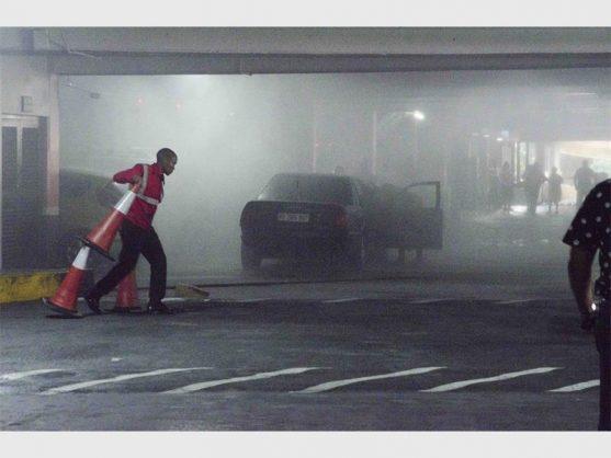 Car explodes in parking lot at KZN shopping centre