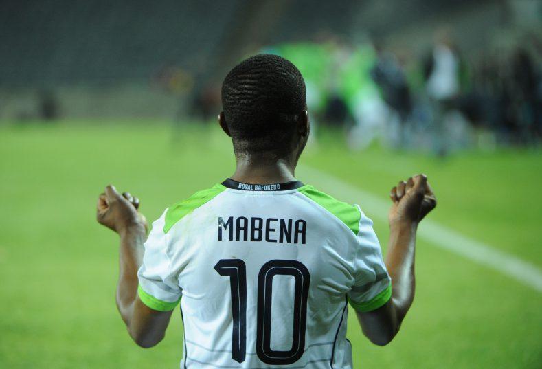 Ndumiso Mabena of Platinum Stars  (Pic Sydney Mahlangu/ BackpagePix)