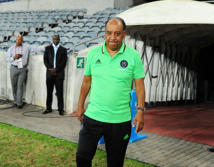 Augusto Palacios,Head coach of orlando Pirates (Aubrey Kgakatsi/BackpagePix)