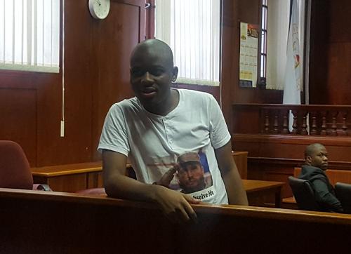 Durban University of Technology (DUT) student activist Bonginkosi Khanyile.  PICTURE:  EFF Students Command @EFFStudents