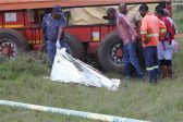 Truck kills man during service delivery protest on the East Rand