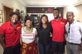 Check it: Siya Kolisi and Scarra Ntubeni are Stormers in Lagos!