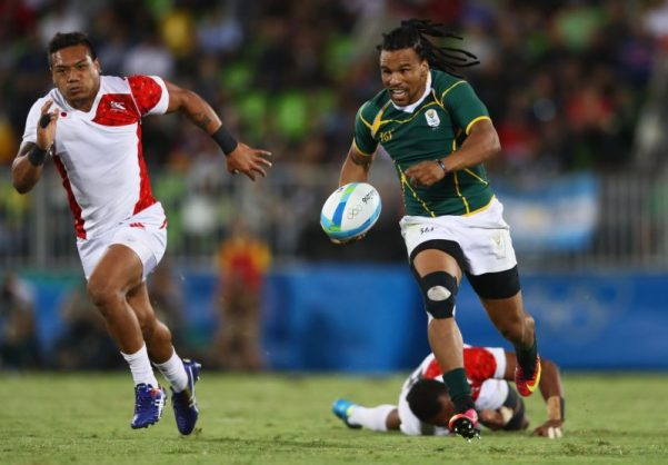 Rosco Speckman's experience was vital in the Blitzboks' win over Scotland.  Photo: David Rogers/Getty Images