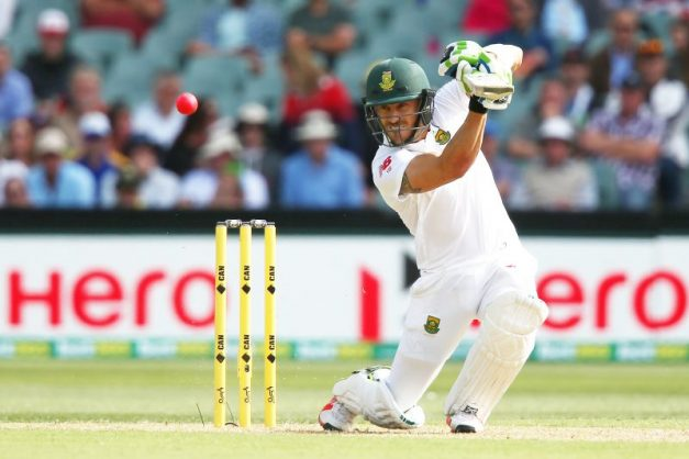 Faf du Plessis will hope he's rid of an unwanted reputation later this month. Photo: Morne de Klerk/Getty Images.
