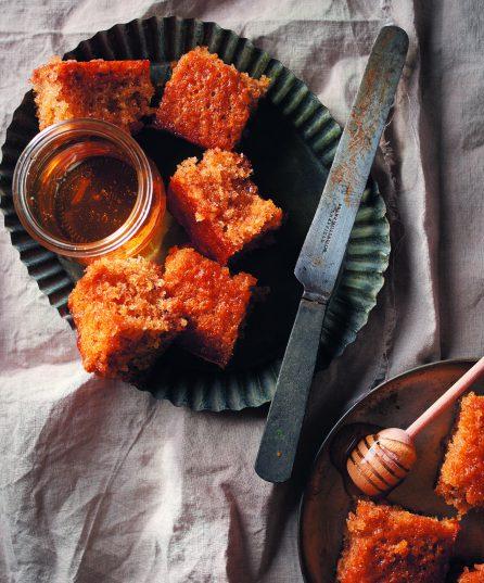 Recipe: Greek honey-cake golden squares