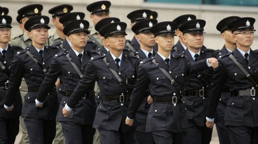 Hong Kong army.