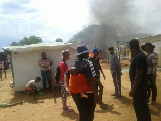 Mob justice leaves two dead. Picture: Rorisang Kgosana.