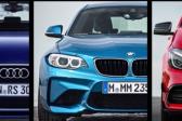 Specs comparison: Audi RS3, Mercedes-AMG A45 and BMW M2