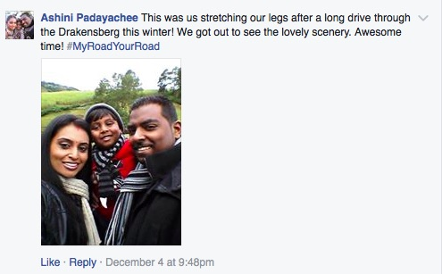 A screenshot from the Road Accident Fund Facebook page.
