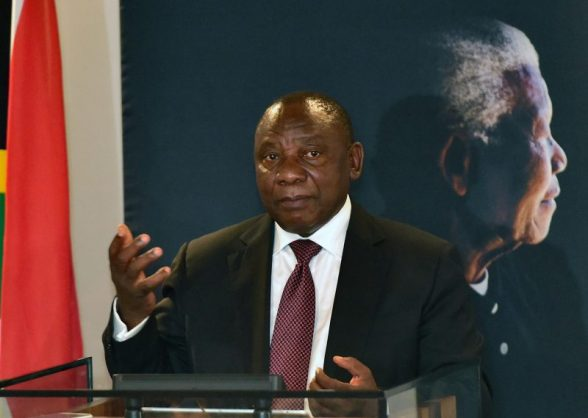 South African Deputy President Cyril Ramaphosa.