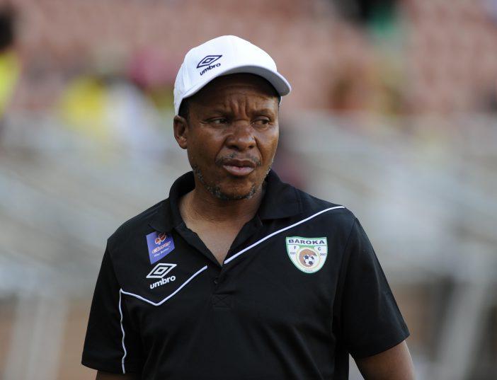 Kgoloko Thobejane, coach of Baroka FC (Photo by Philip Maeta/Gallo Images)
