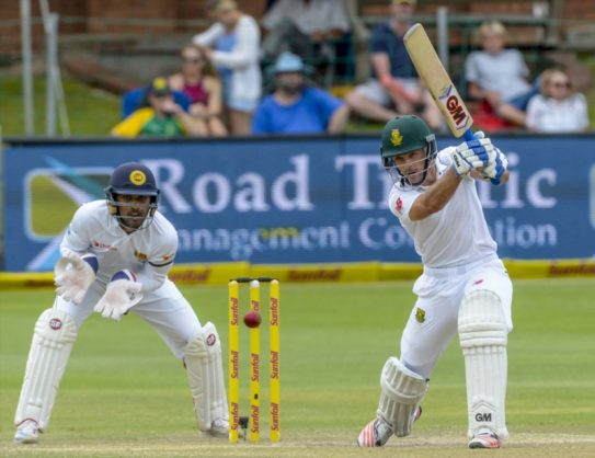 He's not pretty to look at when he's batting but Stephen Cook is hugely productive. Photo: Sydney Seshibedi/Gallo Images.
