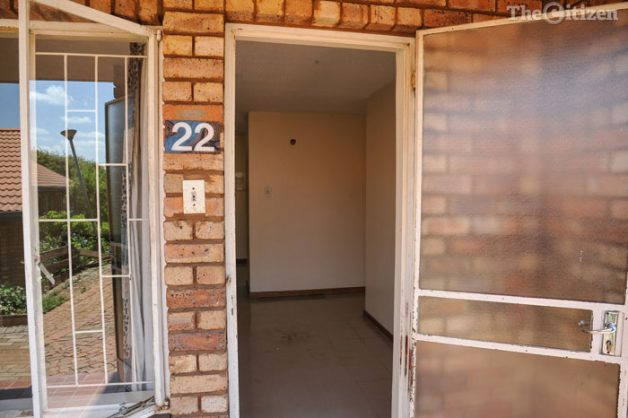 The Student Residence number 22 where a murder had taken place in the early morning hours, 2 December 2016, TUT main campus, Tshwane. Picture: Jacques Nelles