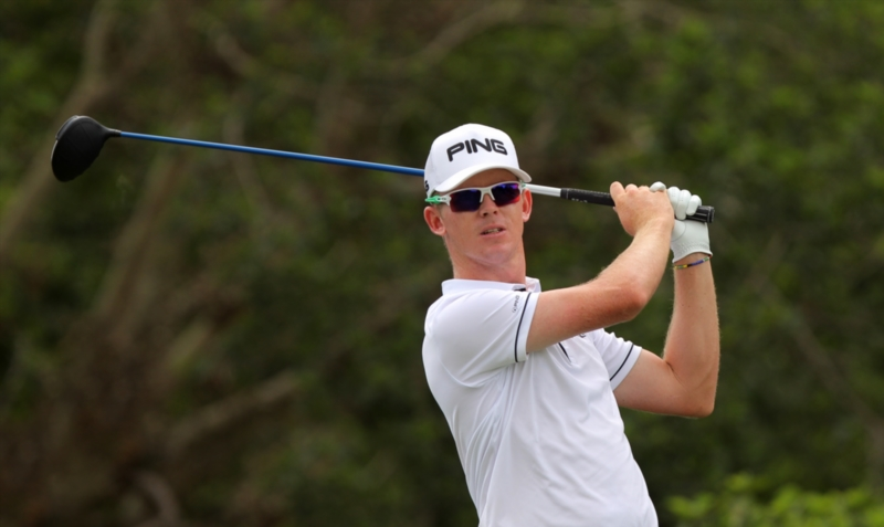 Brandon Stone carded a brilliant 66 to take the lead after two rounds at Leopard Creek. Photo: Petri Oeschger/Sunshine Tour/Gallo Images
