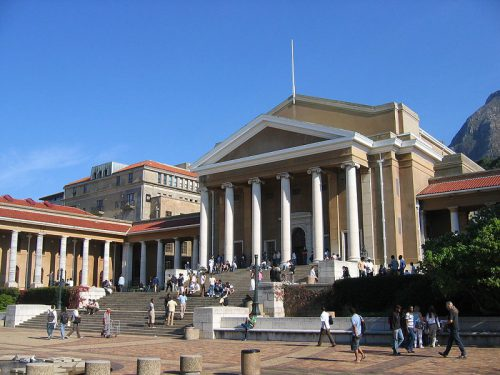 University of Cape Town. Photo: Wikimedia Commons.