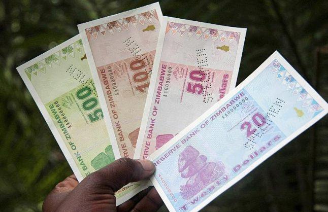 Zimbabwean bond notes.