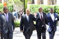 Zuma instructs Gordhan, Jonas to return to SA urgently
