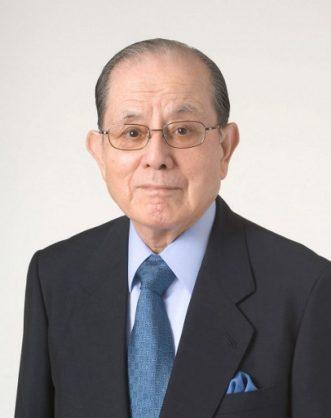 This picture taken on February 13, 2006 shows Masaya Nakamura, Japan's Bandai Namco Holdings Senior Advisor.  Masaya Nakamura, the Japanese video game pioneer known as the