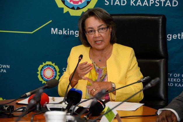 Mayor of Cape Town Patricia de Lille. Picture: Patricia de Lille on Facebook