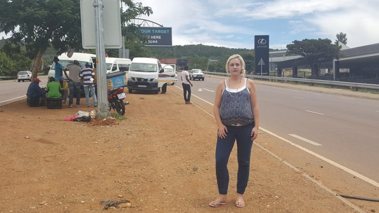 Councilor Jacqui Uys says that a new taxi rank was a priority for her area. Picture: Mari Rheeder