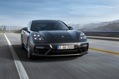 Dynamic all-new Porsche Panamera
