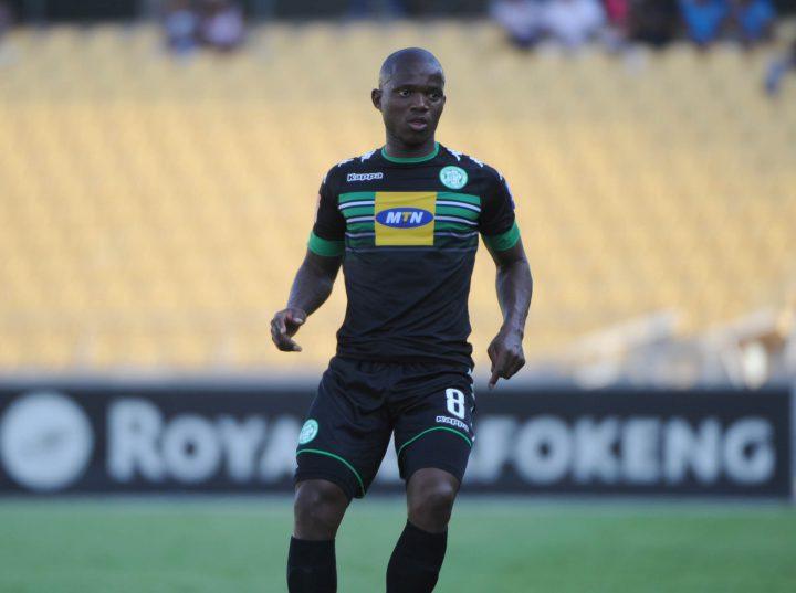 Lantshene Phalane of Bloemfontein Celtic  (Pic Sydney Mahlangu/ BackpagePix)