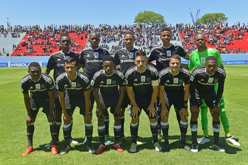 Orlando Pirates during the 2016 MultiChoice Diski Challenge game between Supersport United and Orlando Pirates at Sisa Dukashe Stadium. (Deryck Foster/BackpagePix)