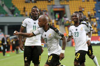 Ayew joy at Ghana win