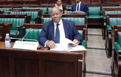 Former Eskom board chairman Ben Ngubane.