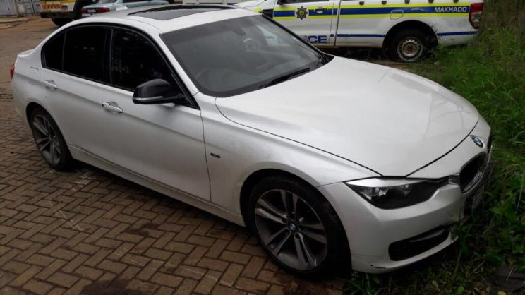 January 14 - The recovered BMW had been reported stolen in Cleveland, Johannesburg, and the Isuzu KB bakkie in Randfontein on the West Rand, both in December 2016. Photo: SAPS