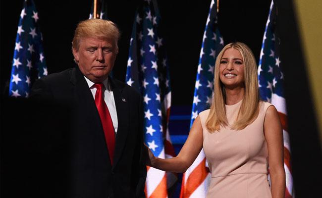 Donald and Ivanka Trump.