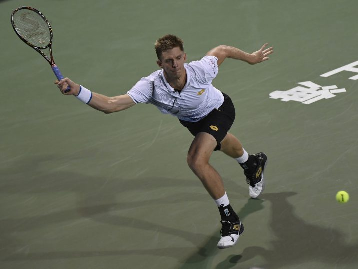 Kevin Anderson in action was a rare sight in 2016. Photo: Kevin Lee/Getty Images.
