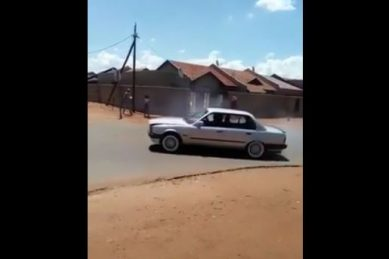 WATCH: A Gusheshe show-off ends in embarrassment