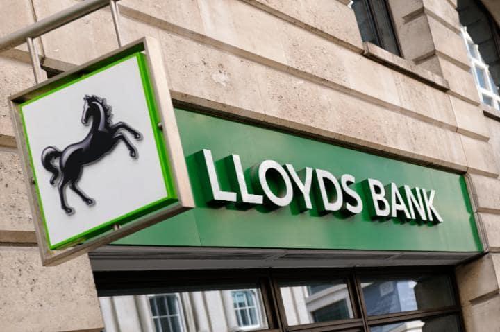 Lloyds Bank in UK.