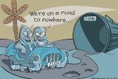 Ghost cartoon: The Zuga ride
