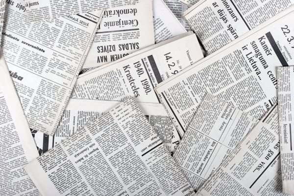 Newspapers. File Picture.