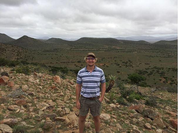"""Dewald Potgieter on his farm """"Dassiesfontein"""" in the Eastern Cape. Photo: dewaldpotgieter.com"""