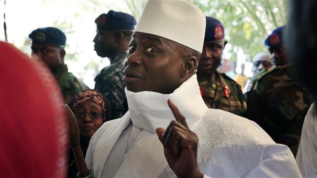 President Yahya Jammeh.
