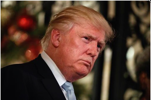 File picture: In this Wednesday, Dec. 28, 2016 file photo, US President Donald Trump listens to a question as he speaks to reporters at Mar-a-Lago, in Palm Beach, Fla. The 18-hole golf course in Dubai bearing Donald Trumps name exemplifies the questions surrounding his international business interests. The course will open in February 2017 in the United Arab Emirates, but concerns about security, financial agreements and other matters have yet to be answered by the incoming 45th American president. (AP Photo/Evan Vucci, File)