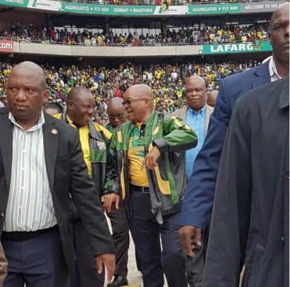 Zuma appeals for unity in the ANC at 105th birthday