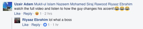 A screenshot from the post on Abu Kad's Facebook page. Picture: Facebook.
