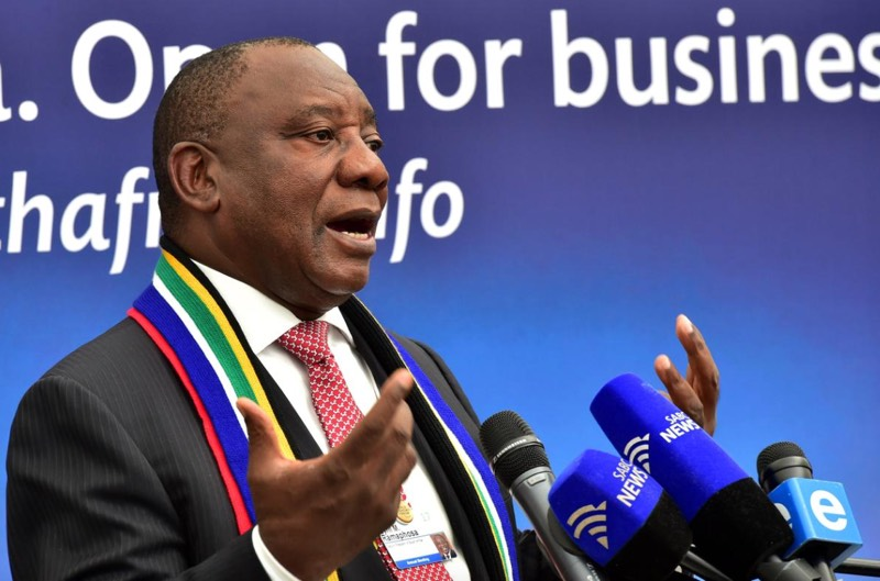 South African Deputy President Cyril Ramaphosa. Picture: GCIS