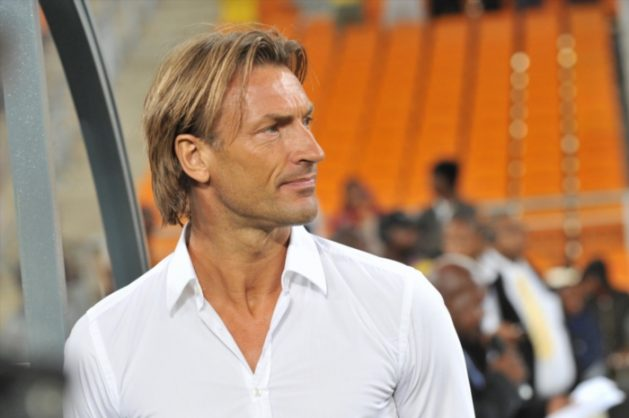 Herve Renard during the Nelson Mandela Challenge match between South Africa and Zambia at Soccer City Complex on November 14, 2012 in Johannesburg, South Africa.Photo by Lefty Shivambu / Gallo Images