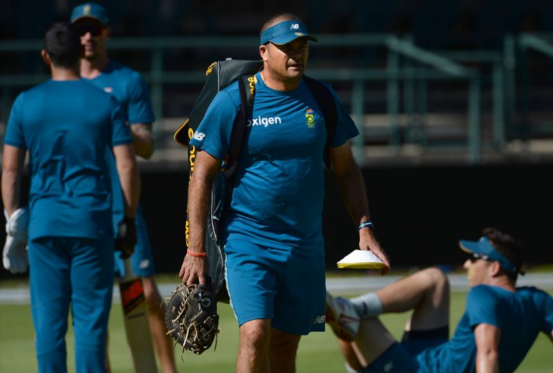 Charl Langeveldt, the Proteas' bowling coach, believes South Africa isn't the only country suffering from free movement of players. Photo: Ashley Vlotman/Gallo Images.