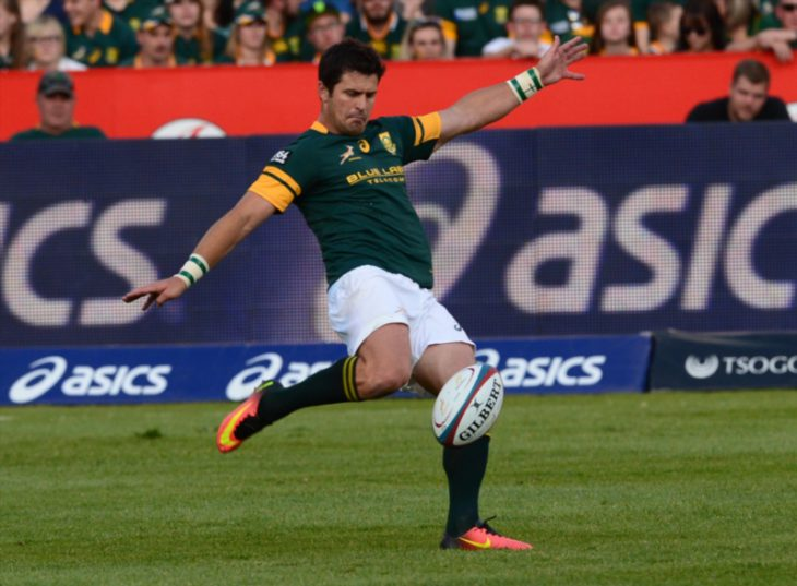 Morne Steyn is still more than willing to kick drop goals for the Springboks. Photo: Anton Geyser/Gallo Images.